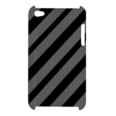 Black and gray lines Apple iPod Touch 4