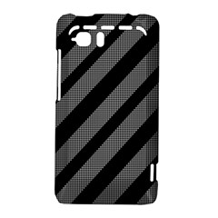 Black and gray lines HTC Vivid / Raider 4G Hardshell Case