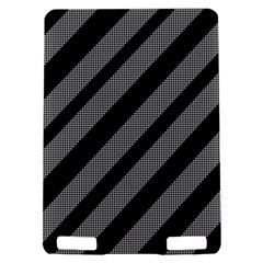 Black and gray lines Kindle Touch 3G