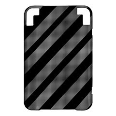 Black and gray lines Kindle 3 Keyboard 3G