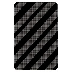 Black and gray lines Kindle Fire (1st Gen) Hardshell Case