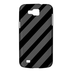 Black and gray lines Samsung Galaxy Premier I9260 Hardshell Case