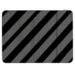 Black and gray lines Samsung Galaxy Tab 7  P1000 Flip Case