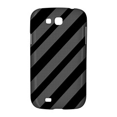 Black and gray lines Samsung Galaxy Grand GT-I9128 Hardshell Case