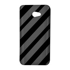 Black and gray lines HTC Butterfly S/HTC 9060 Hardshell Case