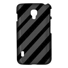 Black and gray lines LG Optimus L7 II