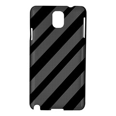 Black and gray lines Samsung Galaxy Note 3 N9005 Hardshell Case