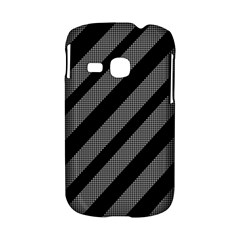 Black and gray lines Samsung Galaxy S6310 Hardshell Case