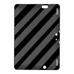 Black and gray lines Kindle Fire HDX 8.9  Hardshell Case