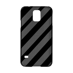 Black and gray lines Samsung Galaxy S5 Hardshell Case