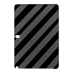 Black and gray lines Samsung Galaxy Tab Pro 12.2 Hardshell Case