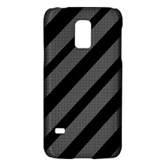 Black and gray lines Galaxy S5 Mini