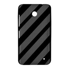 Black and gray lines Nokia Lumia 630