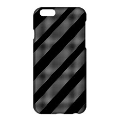 Black and gray lines Apple iPhone 6 Plus/6S Plus Hardshell Case