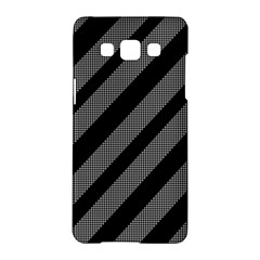 Black and gray lines Samsung Galaxy A5 Hardshell Case