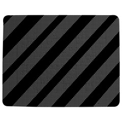 Black and gray lines Jigsaw Puzzle Photo Stand (Rectangular)