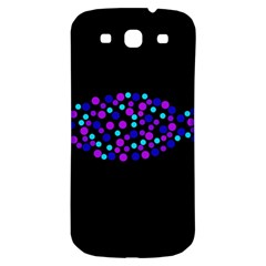 Purple fish Samsung Galaxy S3 S III Classic Hardshell Back Case