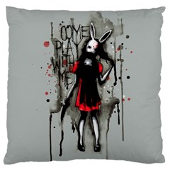 Come Play With Me   Large Cushion Case (One Side)
