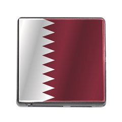 Flag Of Qatar Memory Card Reader (Square)