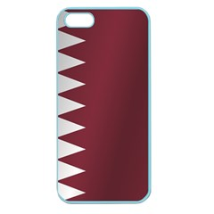 Flag Of Qatar Apple Seamless iPhone 5 Case (Color)