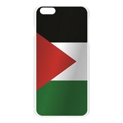 Flag Of Jordan Apple Seamless iPhone 6 Plus/6S Plus Case (Transparent)