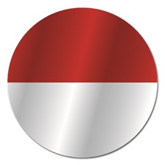 Flag Of Indonesia Magnet 5  (Round)