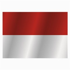 Flag Of Indonesia Large Glasses Cloth (2-Side)