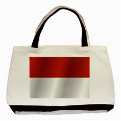 Flag Of Indonesia Basic Tote Bag (Two Sides)