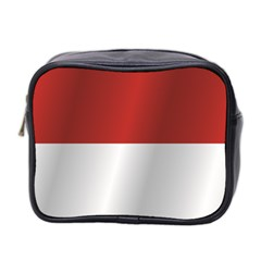Flag Of Indonesia Mini Toiletries Bag 2-Side