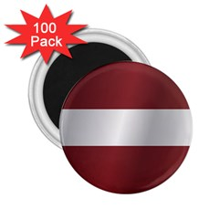 Flag Of Latvia 2.25  Magnets (100 pack)