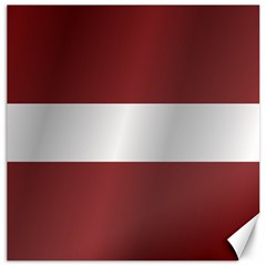 Flag Of Latvia Canvas 20  x 20