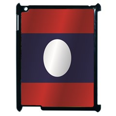 Flag Of Laos Apple iPad 2 Case (Black)