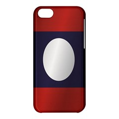 Flag Of Laos Apple iPhone 5C Hardshell Case