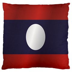 Flag Of Laos Standard Flano Cushion Case (Two Sides)