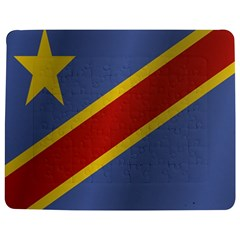 Flag Of Democratic Republic Of The Congo Jigsaw Puzzle Photo Stand (Rectangular)