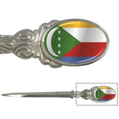 Flag Of Comoros Letter Openers