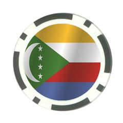 Flag Of Comoros Poker Chip Card Guards (10 pack)