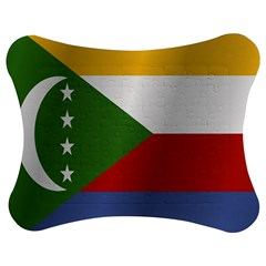 Flag Of Comoros Jigsaw Puzzle Photo Stand (Bow)