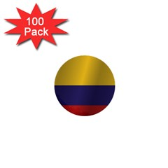 Flag Of Colombia 1  Mini Buttons (100 pack)