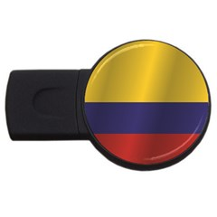 Flag Of Colombia USB Flash Drive Round (4 GB)