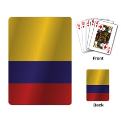 Flag Of Colombia Playing Card