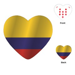 Flag Of Colombia Playing Cards (Heart)