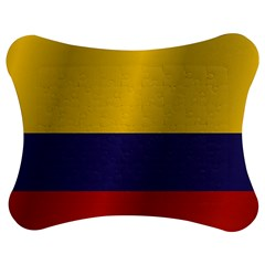 Flag Of Colombia Jigsaw Puzzle Photo Stand (Bow)