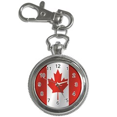 Flag Of Canada Key Chain Watches