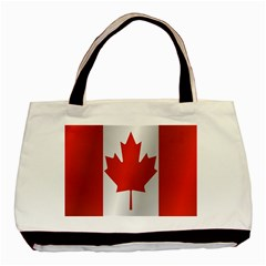 Flag Of Canada Basic Tote Bag (Two Sides)