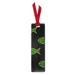 Green fishes pattern Small Book Marks