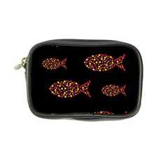 Orange fishes pattern Coin Purse