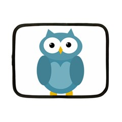Cute blue owl Netbook Case (Small)