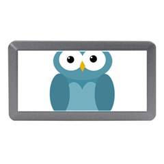 Cute blue owl Memory Card Reader (Mini)