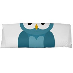Cute blue owl Body Pillow Case Dakimakura (Two Sides)
